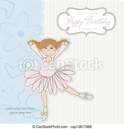 Birthday Greeting Card - csp13617468