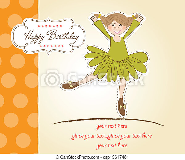 Birthday Greeting Card - csp13617481