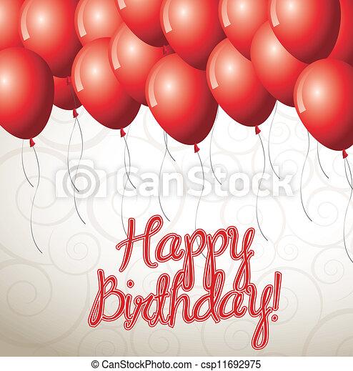 Birthday icons   - csp11692975