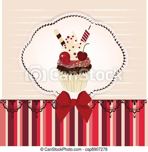 Birthday Invitation Card Invitation Card With Delicious Vector - Birthday invitation card eps