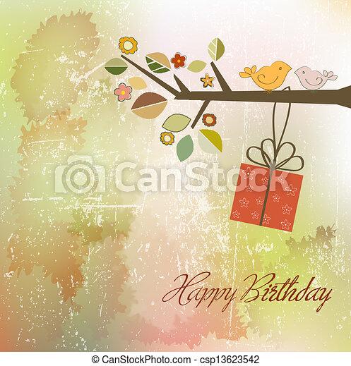 birthday invitation - csp13623542