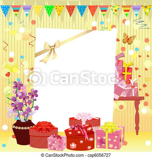 birthday invitation - csp6056727