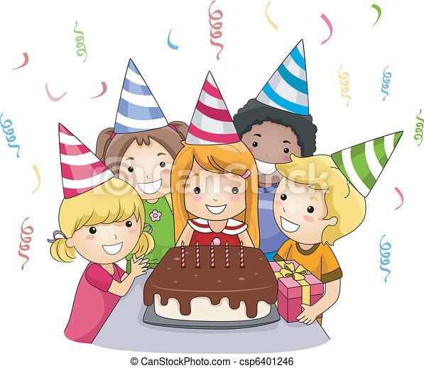 Birthday Party - csp6401246