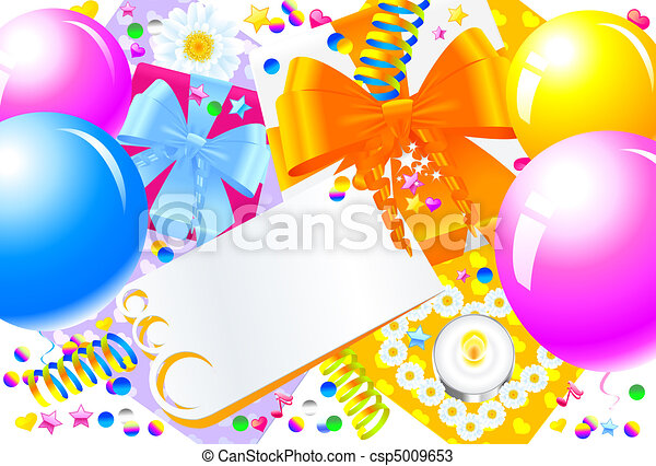 birthday party birthday or party background write your own words