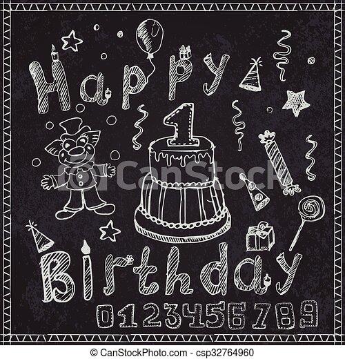 Chalkboard Clipart Chalkboard Birthday Clip art White Chalk | Etsy | Chalkboard  clipart, Birthday chalkboard art, Chalkboard designs
