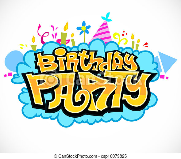 birthday party vector illustration search clipart drawings and rh canstockphoto com party vector png party vector design