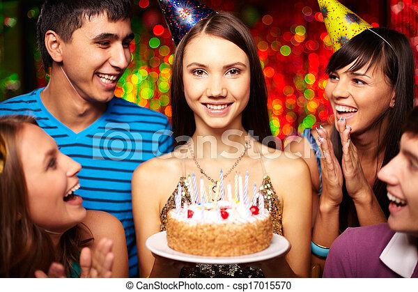 Birthday party - csp17015570