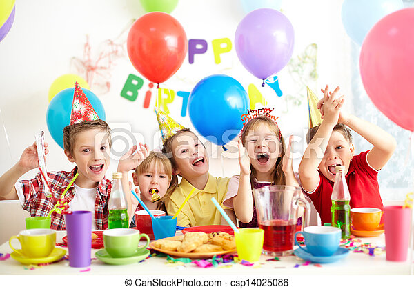 Birthday party - csp14025086