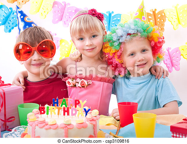 birthday party - csp3109816