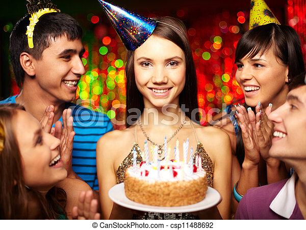 Birthday party - csp11488692