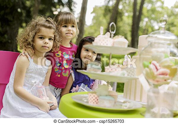 Birthday party - csp15265703