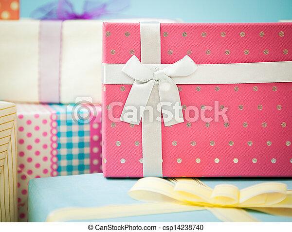 Birthday Presents - csp14238740