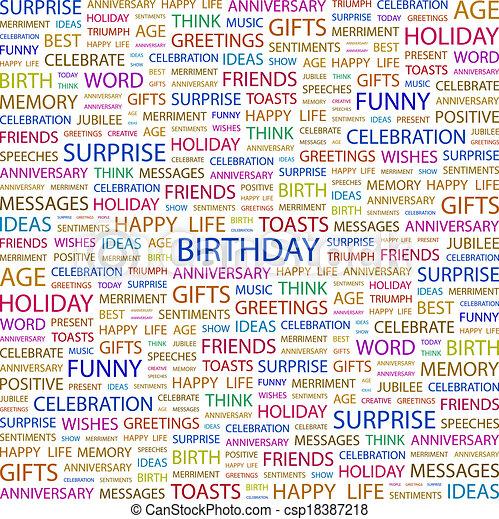 BIRTHDAY - csp18387218
