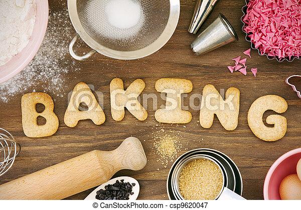 biscoitos, assando - csp9620047