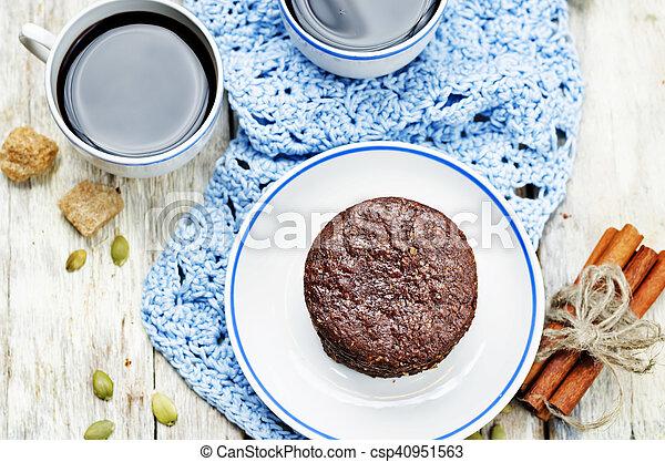 biscoitos, chocolate, mexicano, shortbread, pepita - csp40951563