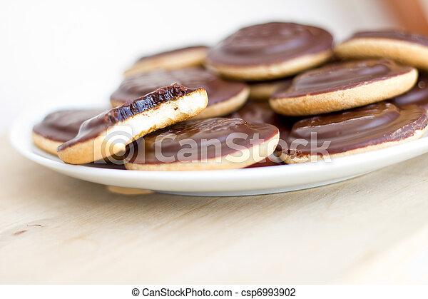 biscotti, mucchio - csp6993902
