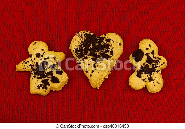 biscotto, natale - csp40016450