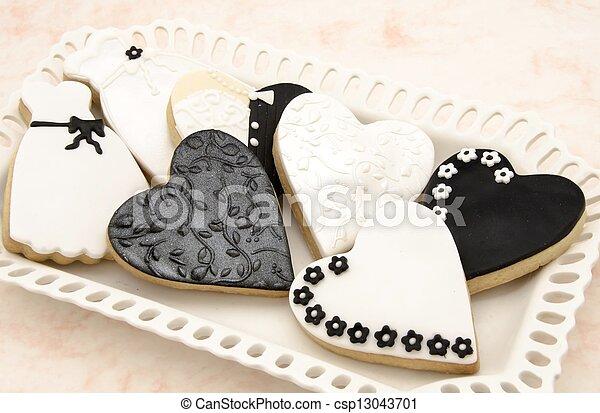 biscuits, décoré - csp13043701