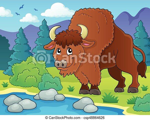 Bison theme - csp48864626