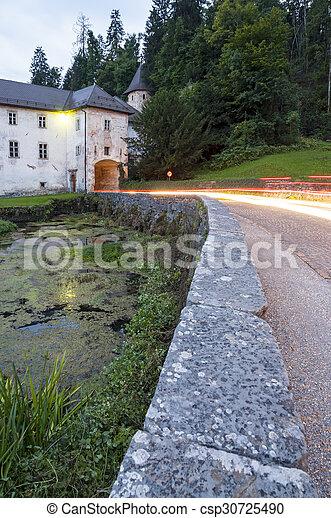 Bistra Castle in Slovenia - csp30725490