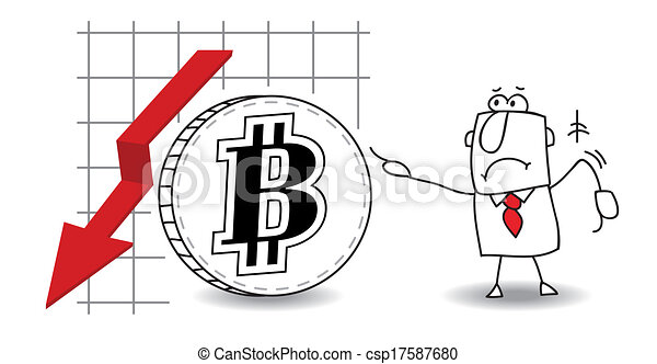 Bitcoin is growing down - csp17587680