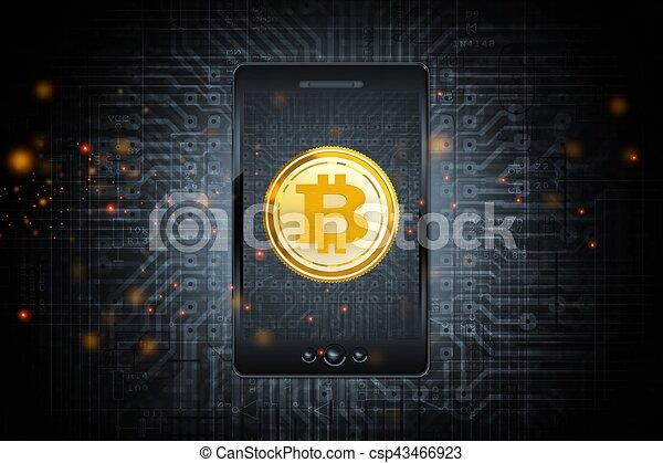 Bitcoin Mobile Phone Transfer - csp43466923