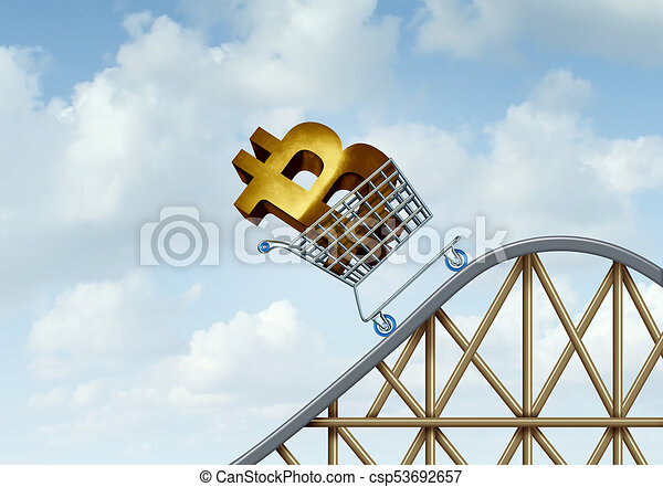 Bitcoin Rise - csp53692657