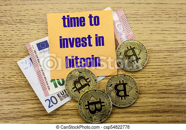 Time to invest bitcoin