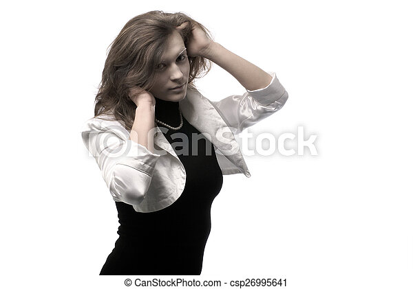 Bizarre woman - csp26995641