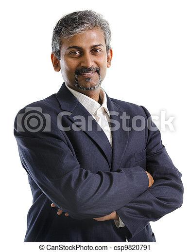 biznesmen, indianin - csp9820791