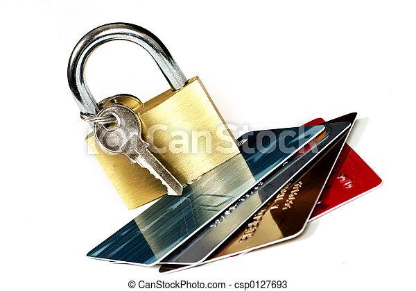 biztonság, kártya - csp0127693