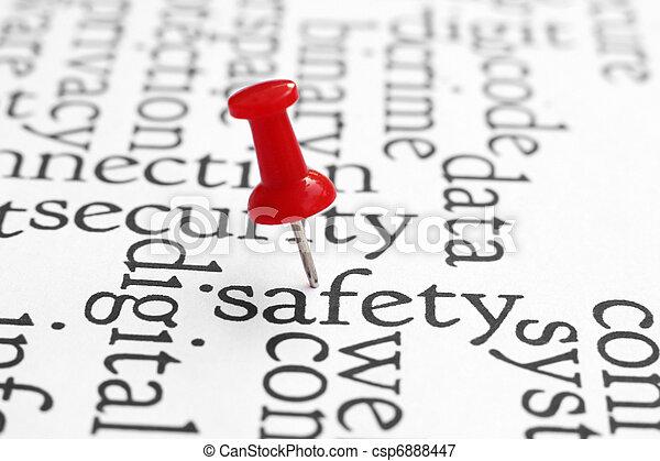 biztonság - csp6888447