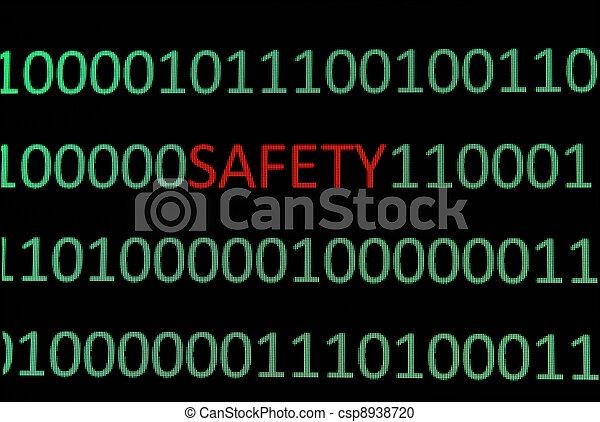biztonság - csp8938720