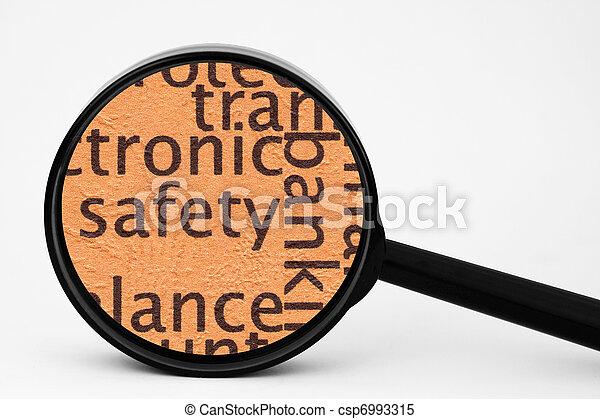 biztonság - csp6993315