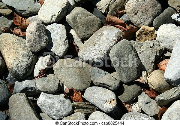 Steine und Tote hinterlassen Hintergrund - csp0825444