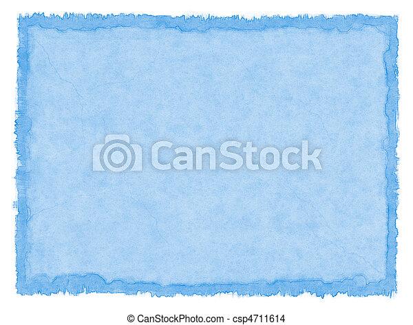blå, fläckat, papper - csp4711614