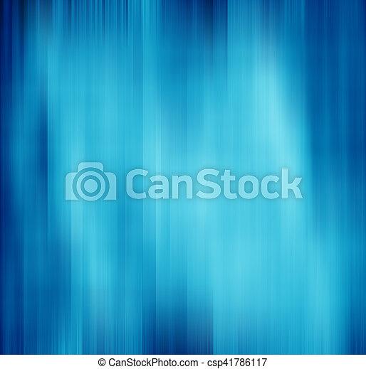 blå, rörelse, abstrakt, bakgrund, fläck - csp41786117