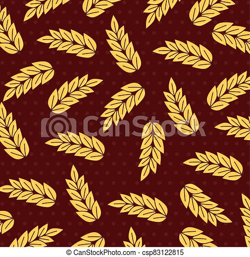 blé, collection, pointes, fond, pointes - csp83122815