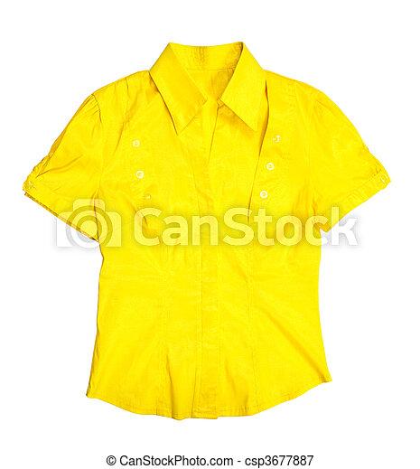 blúz, sárga - csp3677887