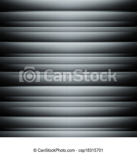 Black abstract backdrop with 3d effect - csp18315701