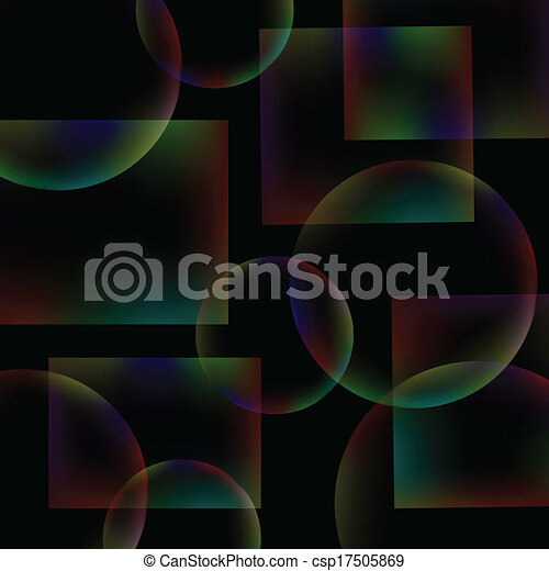 black abstract background - csp17505869