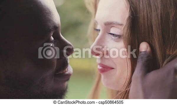 African man and white woman