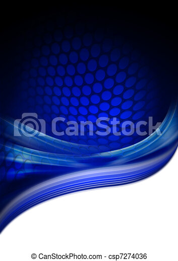 Black and blue background - csp7274036