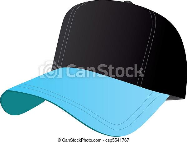 8f0f55af7 Black and Blue Baseball Cap