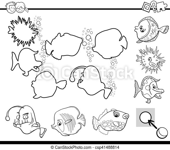 Black And White Activity For Kids