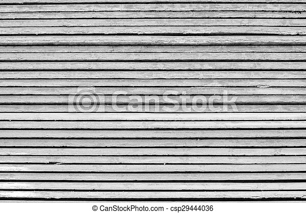 black and white arrange of wooden plate - csp29444036