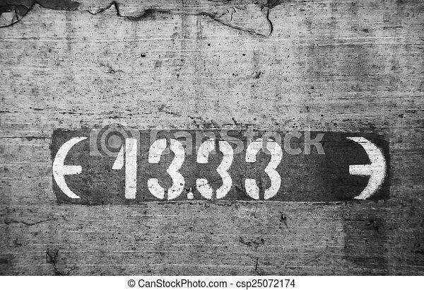 Black and white background - csp25072174