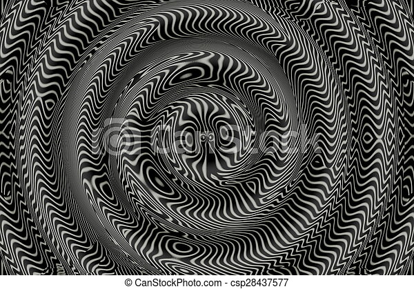 Black and white background. - csp28437577