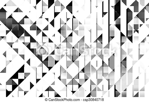 Black and white background - csp30840718