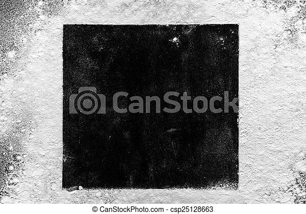 Black and white background - csp25128663